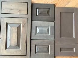Best Related Image Gray Stained Cabinets 400 x 300