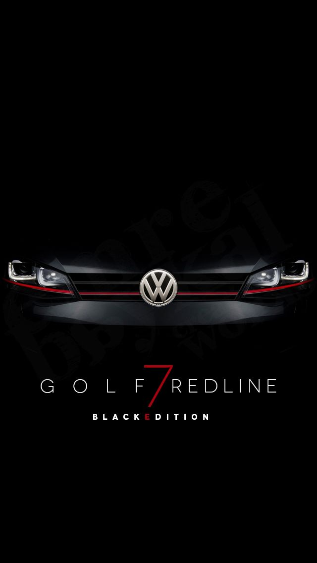 VW GOLF 7 | iPhone Wallpaper - Emre Baykal | Web & Presentation & Graphic | Vw golf iphone ...