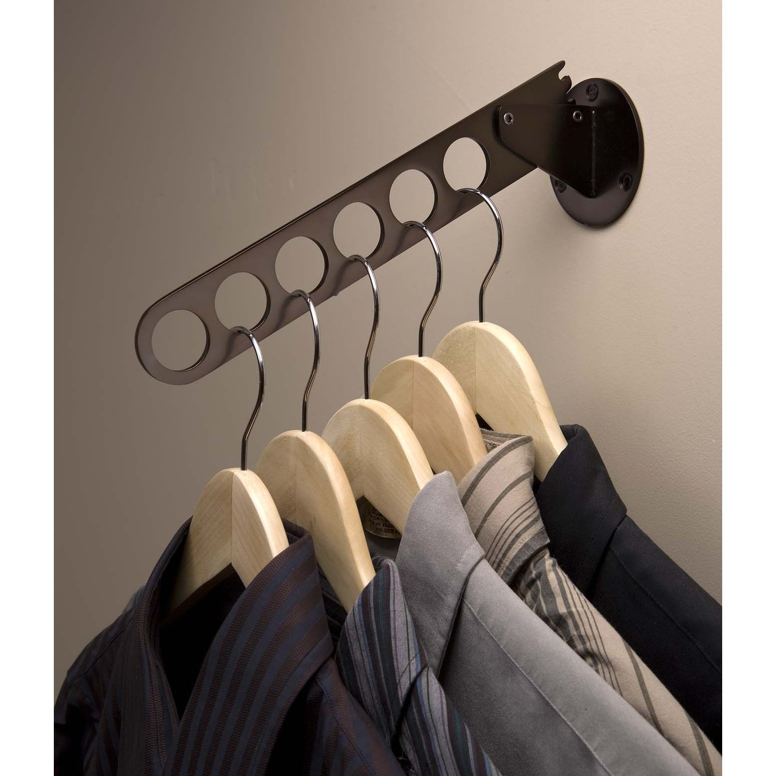 for upper level laundry Laundry Valet Rod Image