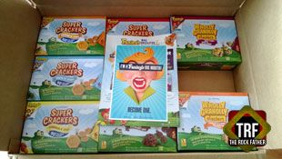 Back to School: Funley's Delicious Super Crackers & Wholly Granolly Clusters... Lunchbox Treats that Rock!