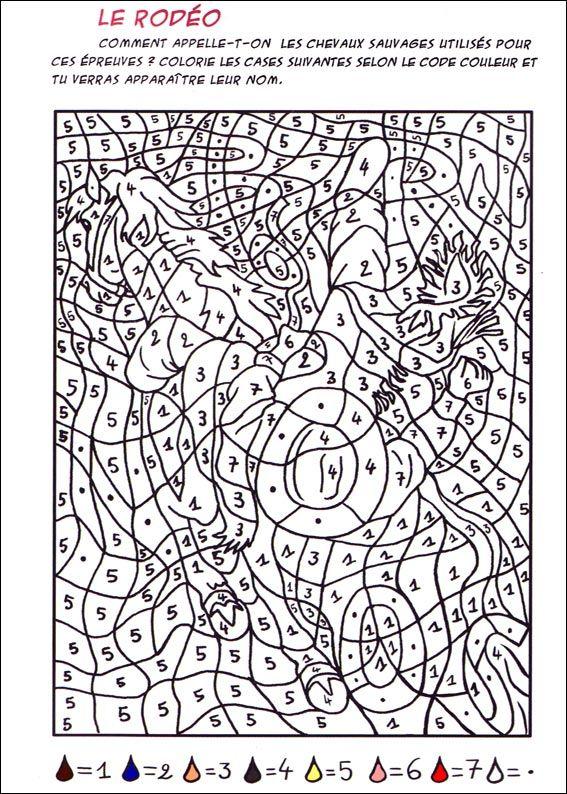 Coloriage Magique à Colorier Dessin à Imprimer дети
