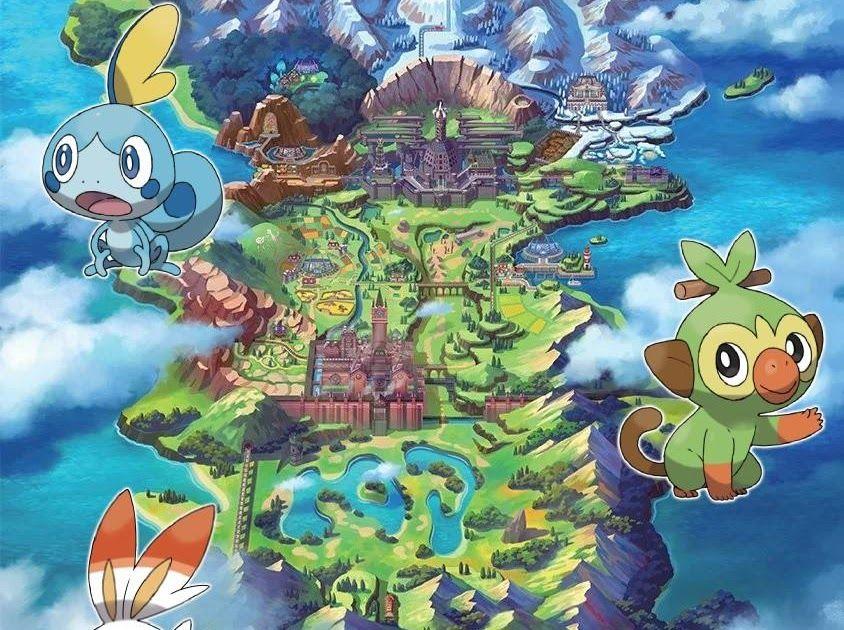 Pokemon Sword Wallpaper Phone Di 2020