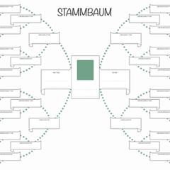 Stammbaum Vorlage In 2020 Stammbaum Vorlage Stammbaum Familienstammbaum Vorlage