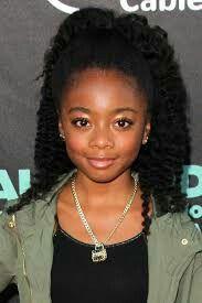 Skai Jackson Zuri Ross Skai Jackson Little Girl Hairstyles Natural Hairstyles For Kids