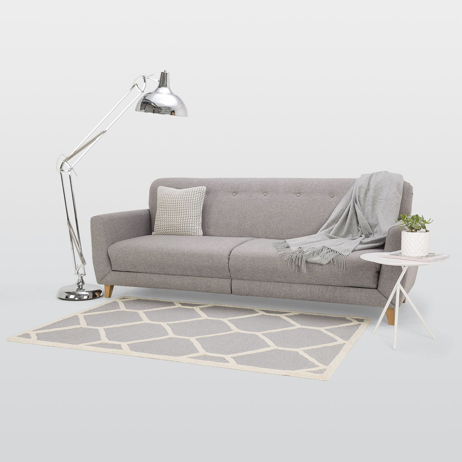 Sydney 3 Seater Fabric Sofa Bed – Next Day Delivery Sydney 3 Seater