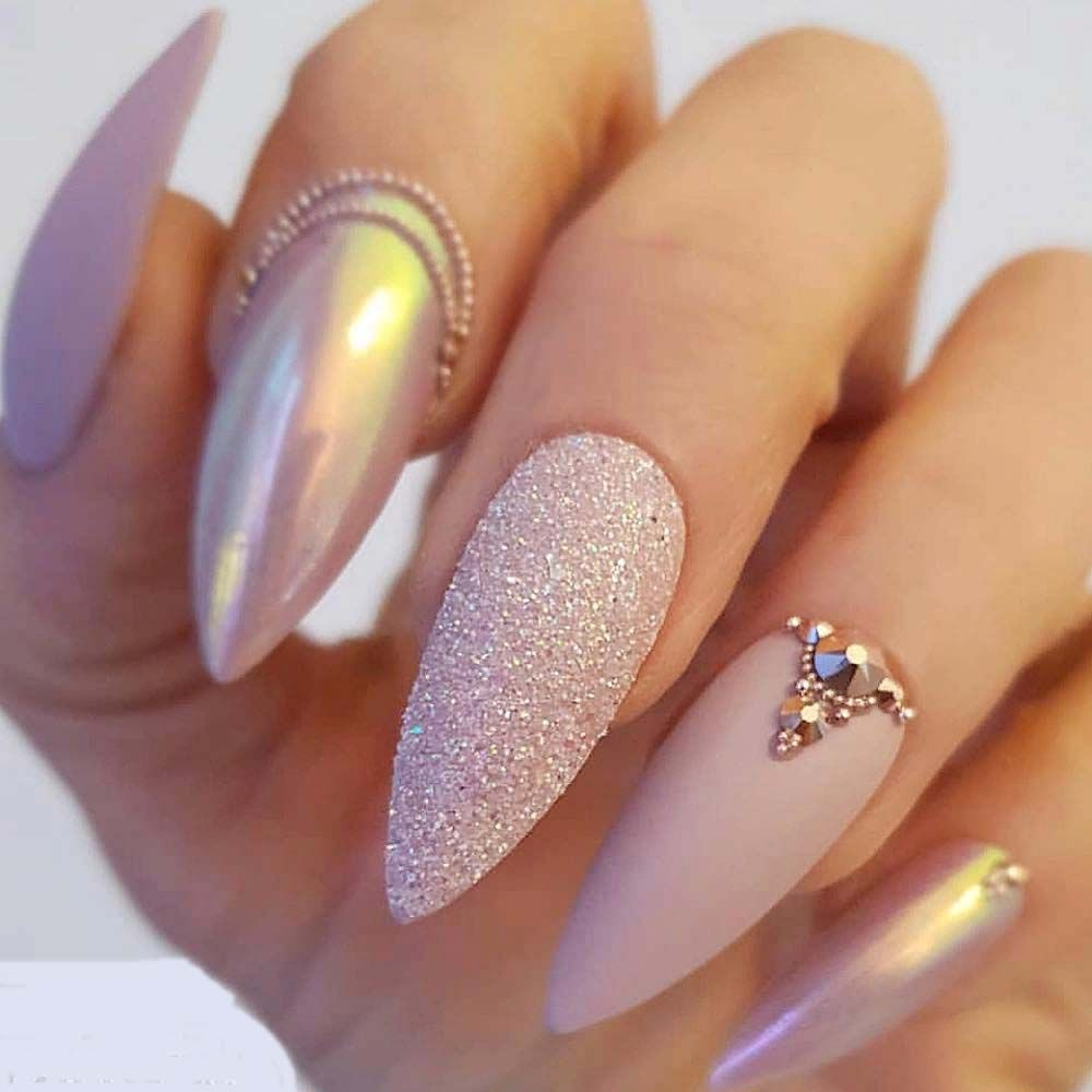 Cool Light Pink Nail Designs To Try In 2019 Manicura De Unas