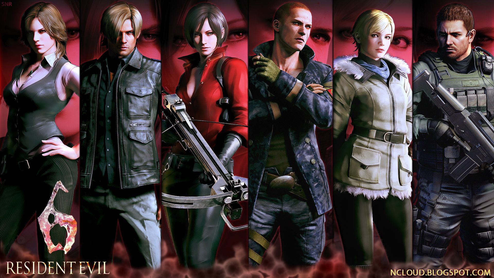 Games Movies Music Anime My Resident Evil 6 5