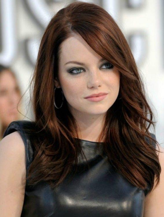 Emma Stone Tarcin Bakir Sac Modeli Sac Renkleri Sac Rengi Sac