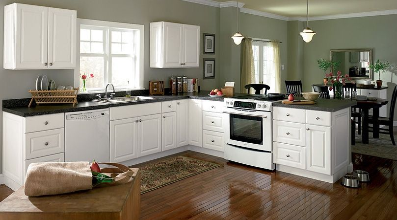 All White Kitchen Cabinets - Sarkem.net