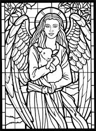 Image result for amazing angels stained glass coloring book