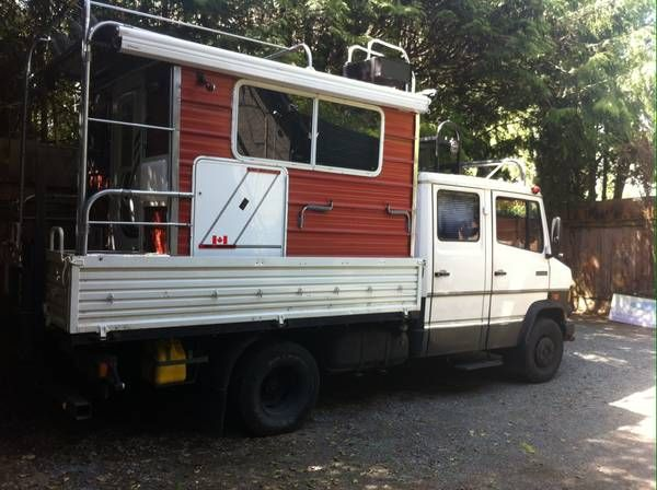 1986 Mercedes 609d Motorhome For Sale Craigslist Vancouver Bc