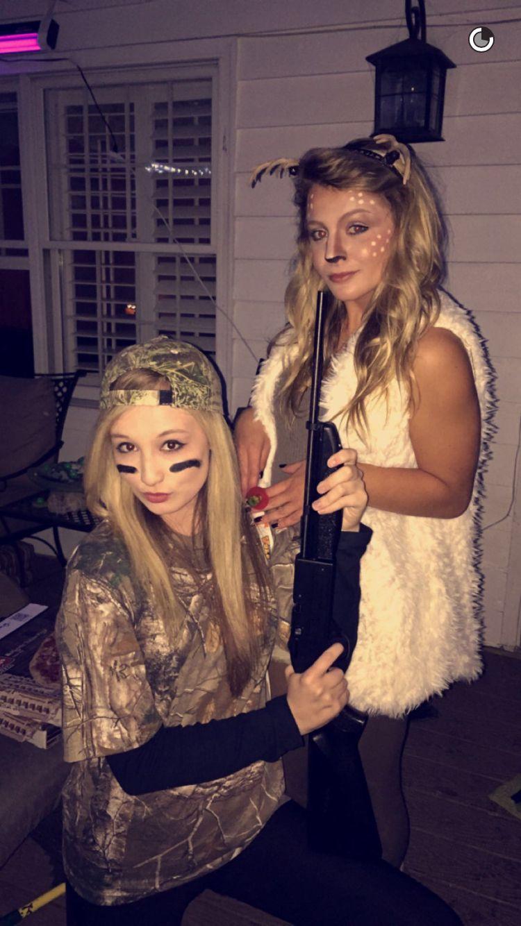 Halloween Maskerad.Hunter And Deer Halloween Costumes Halloween Maskerad