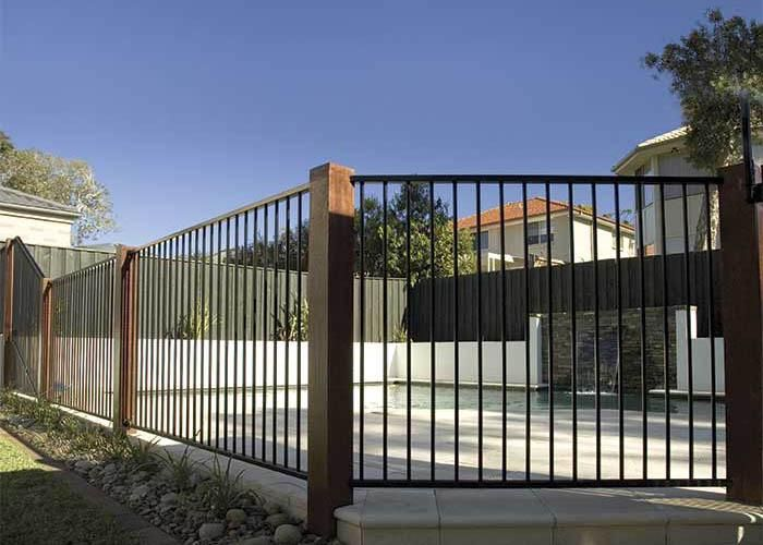 Hipages Com Au Is A Renovation Resource And Online Community With Thousands Of Home And Garden Photos Pool Fence Fence Around Pool Swimming Pools Backyard