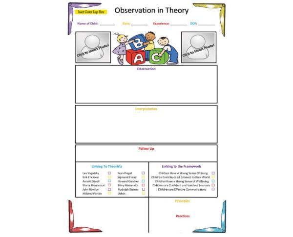 methods for child observation Assignment # 1: naturalistic observation - practice being a  psychologist 1 select a child  what methods do children use to attract adult  attention.
