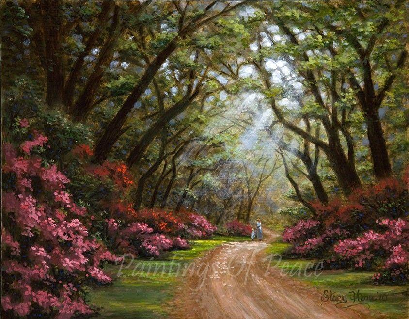 Very Pretty Acrylic Lindas Paisagens Pinturas Paisagens Pinturas