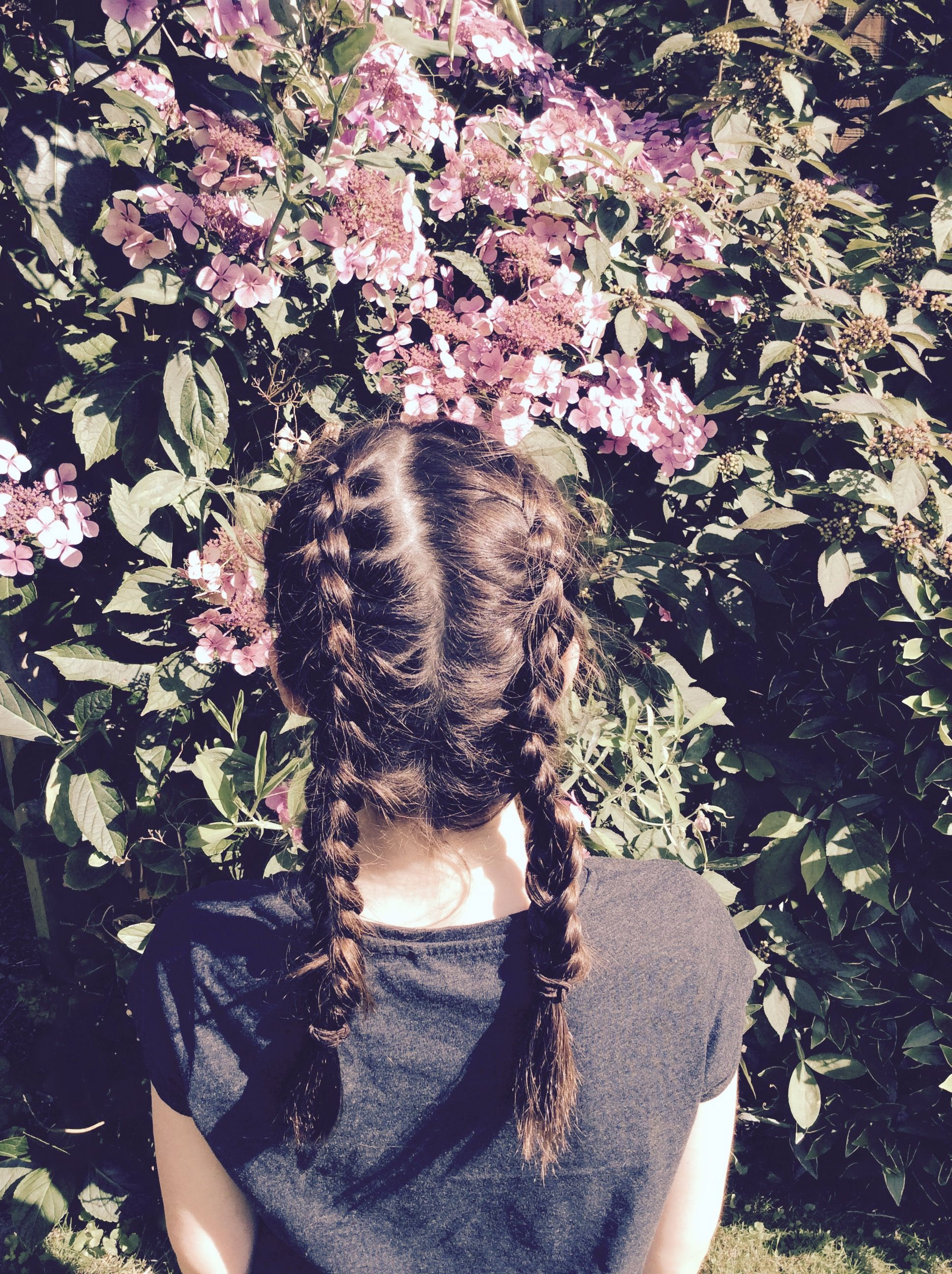 Dutch braid a summery hairstyle which lasts a long time here are