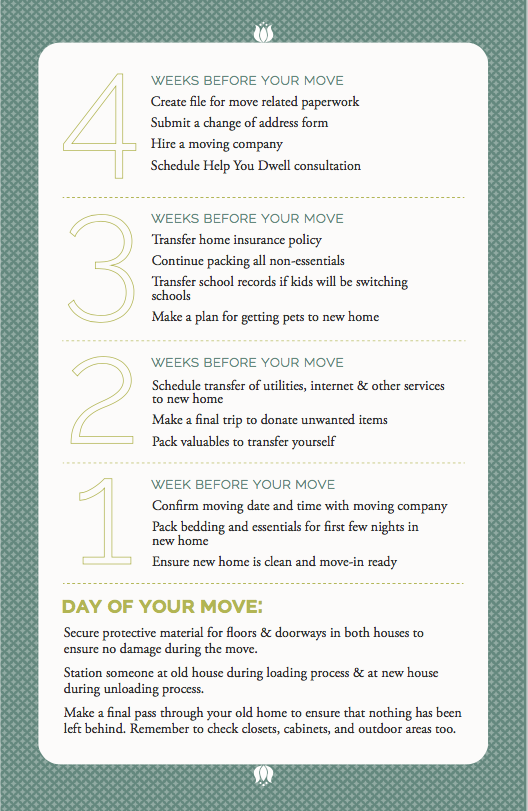 Preparing For A Move Help You Dwell How To Plan Moving Planning A Move