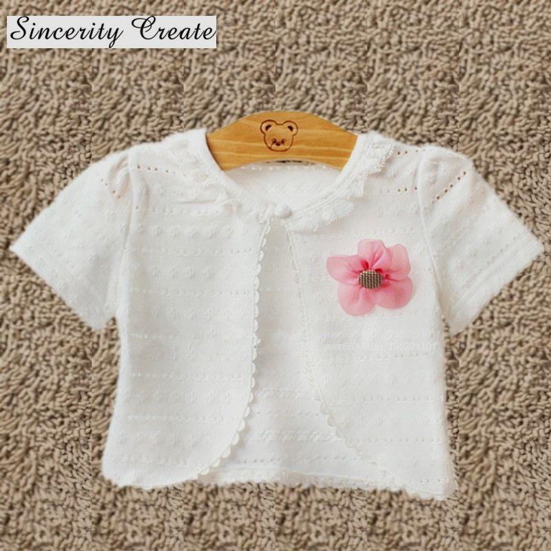 1a9abb8c7900 Fashion 4 style girls cardigan coats short-sleeve cotton polyester ...