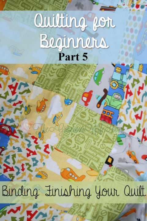 Binding Your Quilt - Quilting for Beginners | Tutorials, Quilt ... : finishing a quilt for beginners - Adamdwight.com