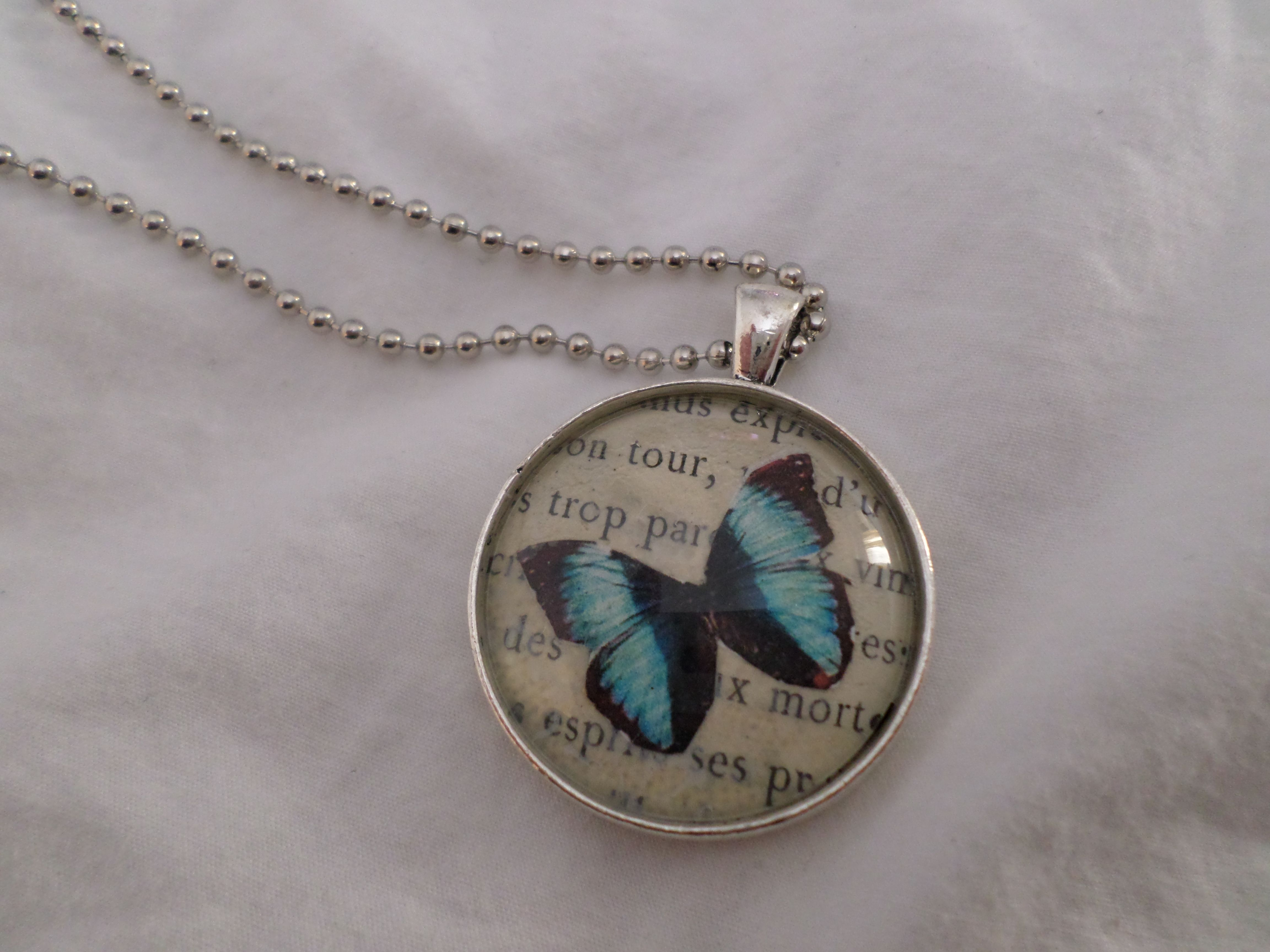 Butterfly Necklace $22
