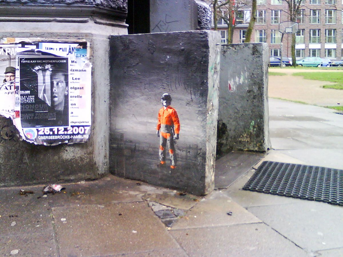 Real looking (Orange) Man