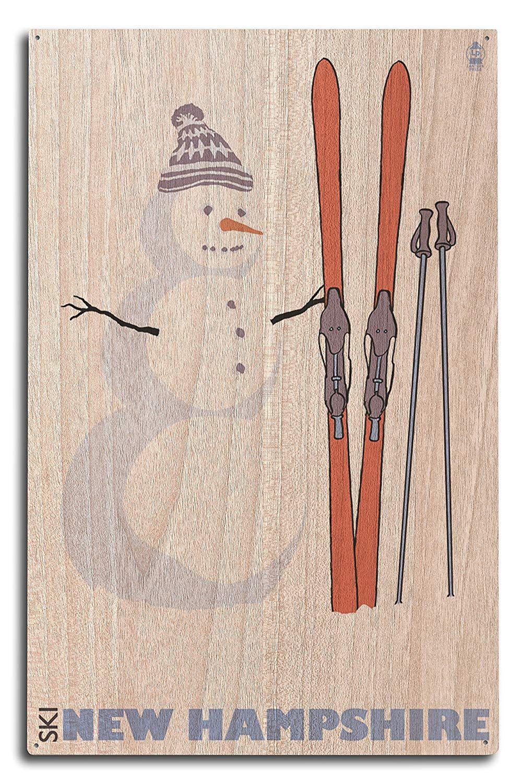 10x15 Room: Skiing, Hampshire, Lanterns