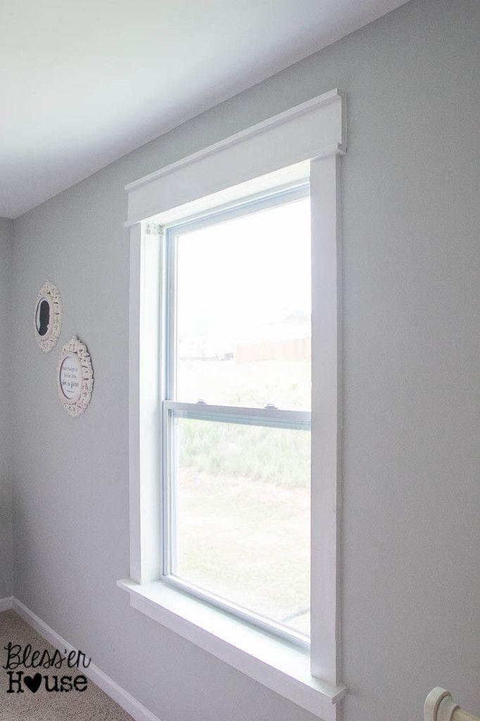 Diy Window Trim The Easy Way Diy Window Trim Diy Window Frame Interior Window Trim