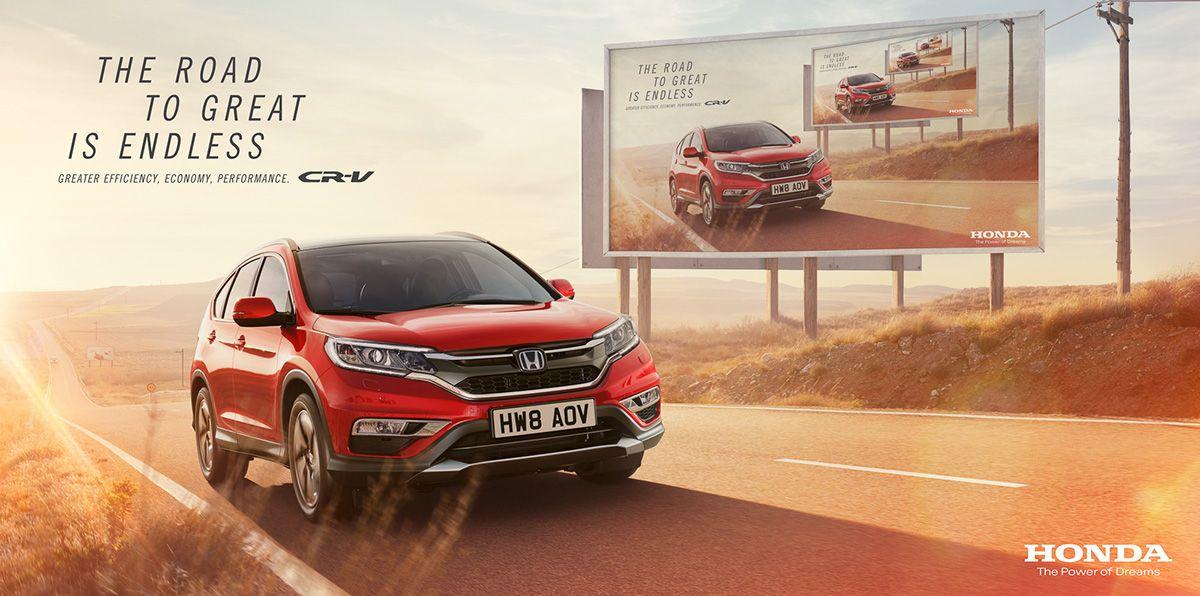 Honda CRV with Nick Meek CGI on Behance Honda cr