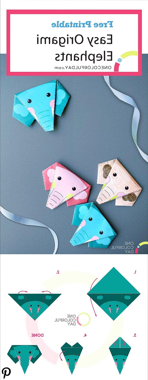 Photo of Free Printable Easy Origami Elephant  #Free #Printable #Easy #Origami #Elephant …