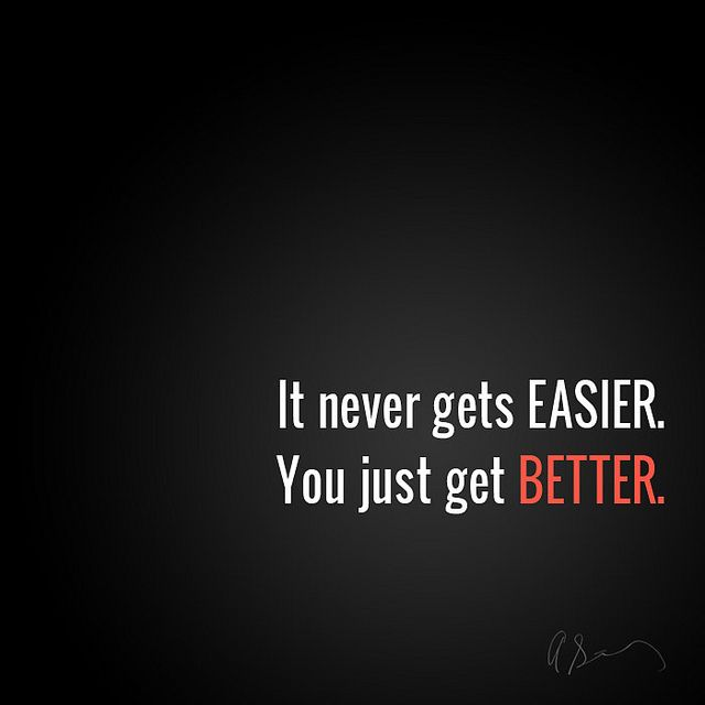 Wow, amen! Become the expert at whatever it may be, and you will succeed. The road to 'easy' is tough!