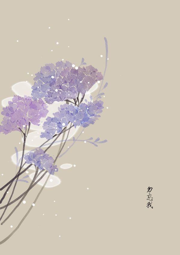 二月份的生日花1~12号_artistic青尘__插画师作品_涂鸦王国gracg.com