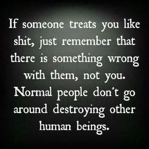 Normal People Don T Destroy Other Human Beings Words Quotes