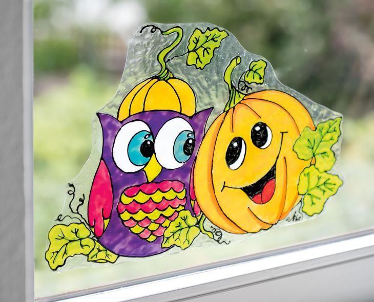 windowcolor für den herbst kostenlose anleitung von vbs