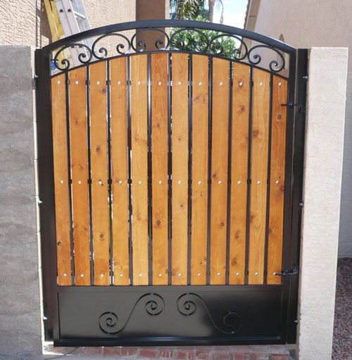 Wooden Tree Gate Design: Wooden Gates For Side Of House