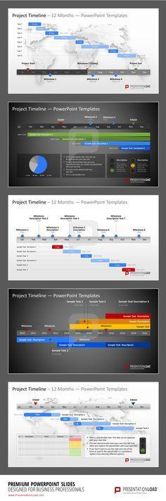 Project Timeline PowerPoint Template #presentationload www