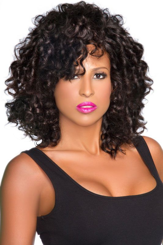Curls On Top Of Curls Indian Deep Curly Hair Is Soft With A
