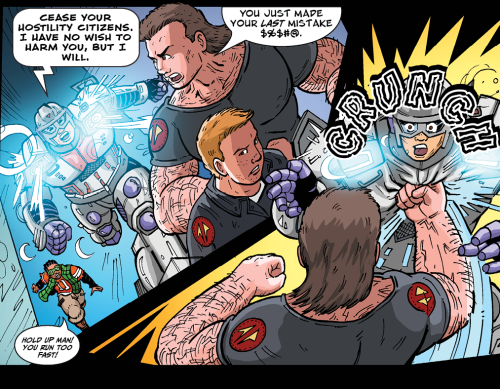 Could this be the rise of a new super-villain? Check out the newest page of Our Super Mom.
