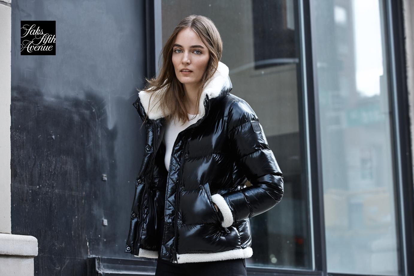 Sam Willa Shearling Trimmed Down Puffer Jacket Jackets Puffer Jackets Clothes For Women [ 921 x 1382 Pixel ]