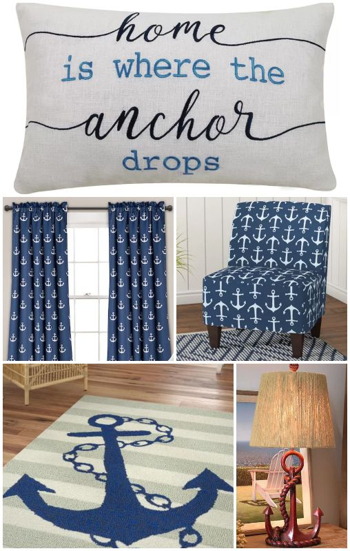Photo of Home is Where the Anchor Drops Decor Ideas
