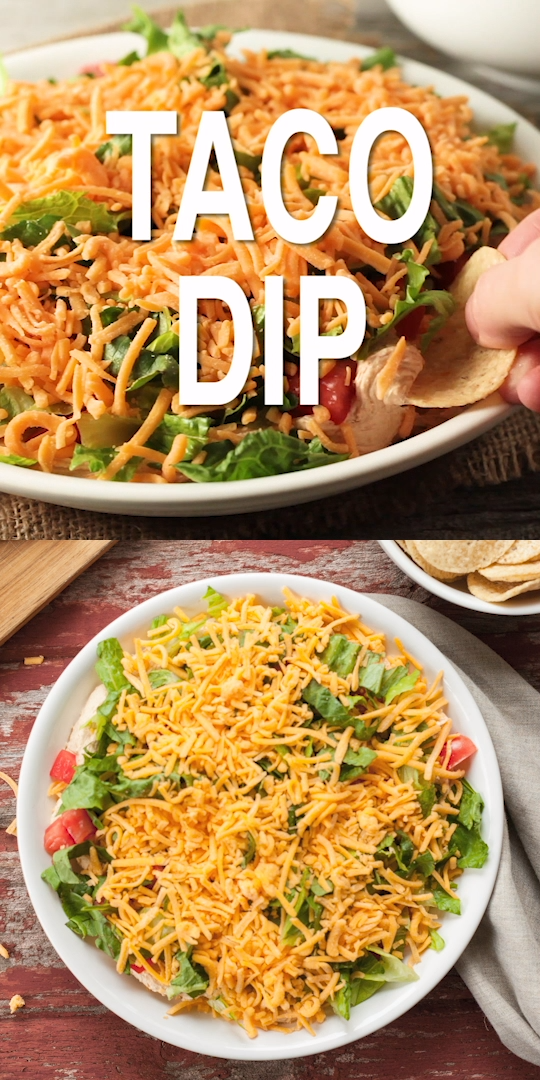Taco Dip #tacodip