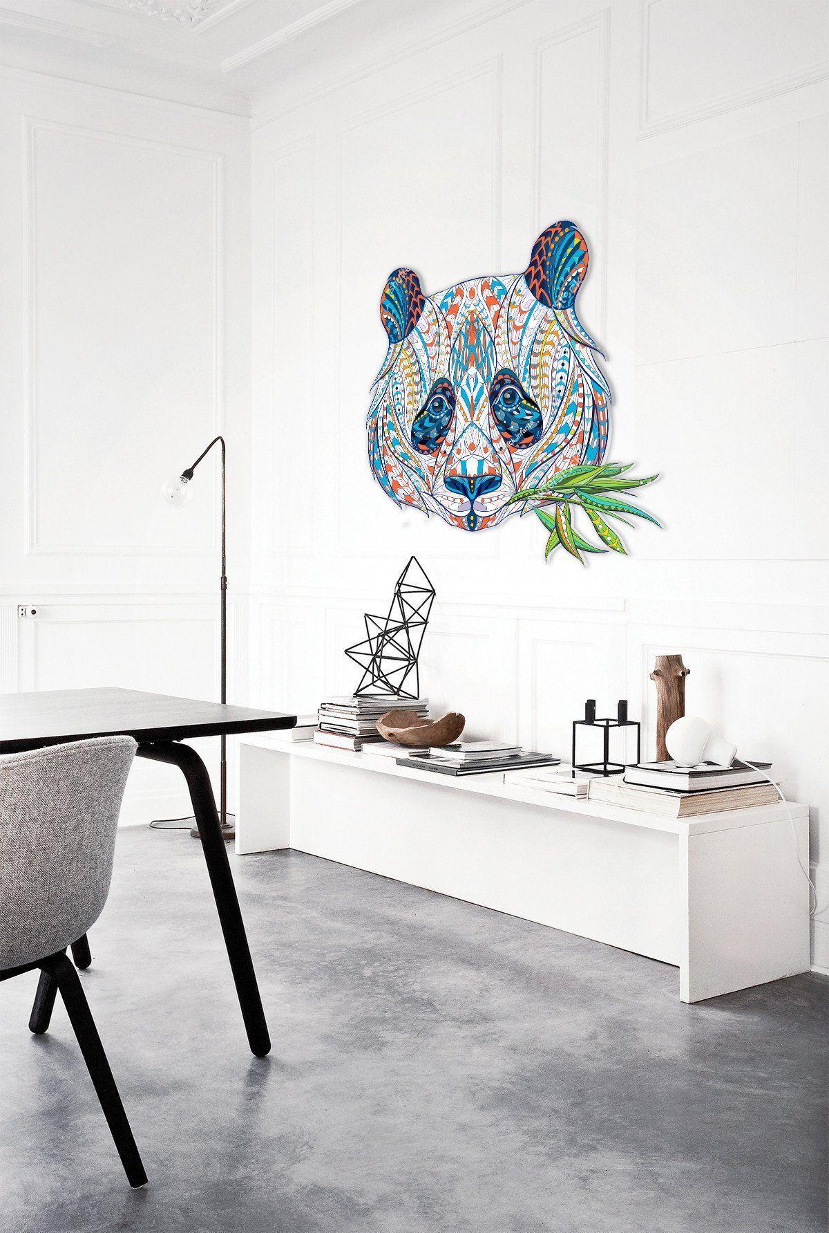 Wood Wall Art Panda T Idea Panda Wall Art Panda