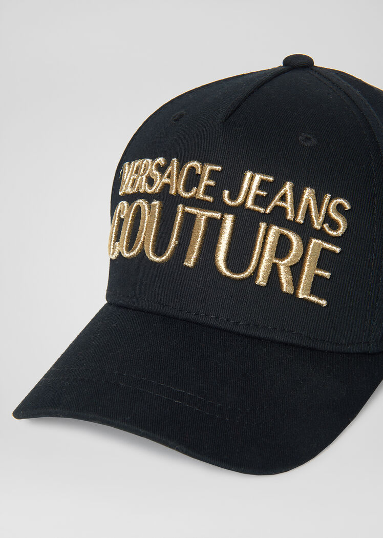 Versace Jeans Couture Logo Cap For Men Us Online Store Mens Caps Versace Jeans Couture Versace Jeans