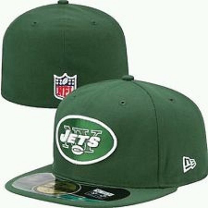 cdac7f8da46399 New Era New York Jets On Field 5950 Green Cap NFL FOOTBALL Fitted Hat 7 1/4  #NewEra #NewYorkJets