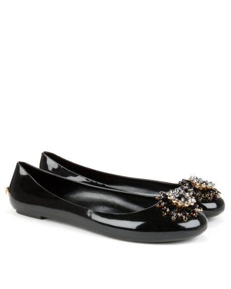 3ecd86620 ANISLEE | Brooch detail jelly pump - Black | Footwear | Ted Baker ...