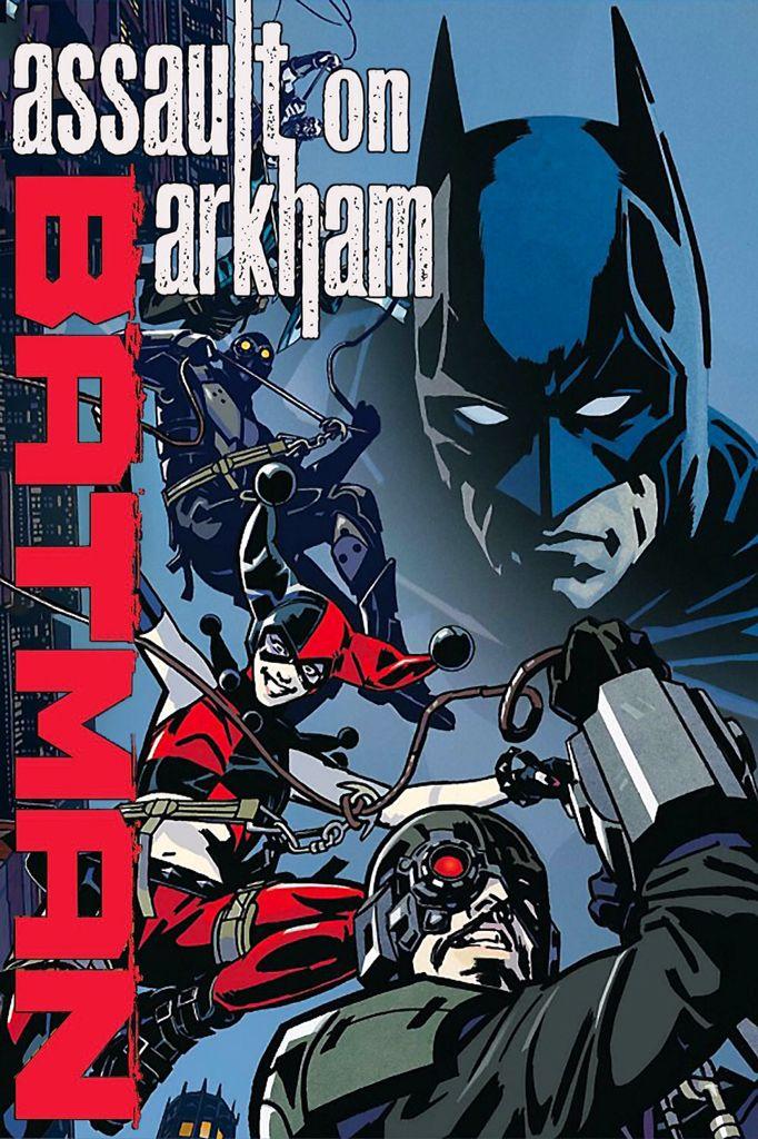 Batman Assault On Arkham Poster Animated Movies Batman Batman