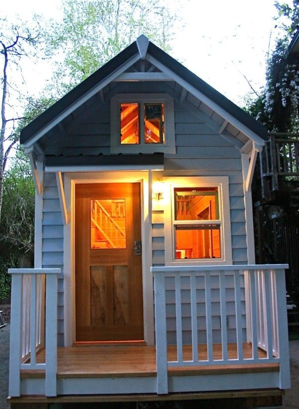Cape Cod Molecule Tiny House For Sale: Two Lofts W/ Stairs On