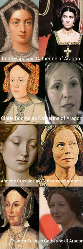 Catherine of Aragon in films ( not in order)