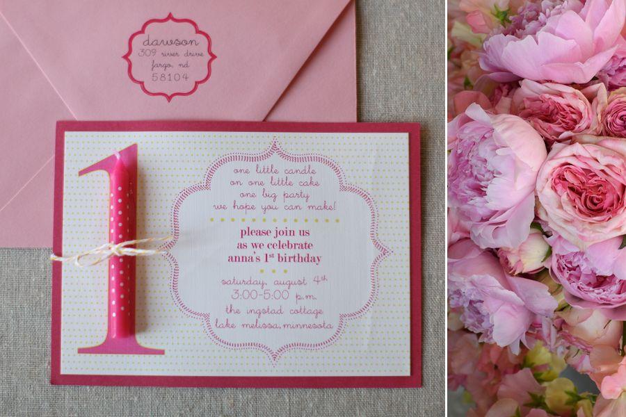 birthday invitations – 1 year! – fargo invitations & stationery ...