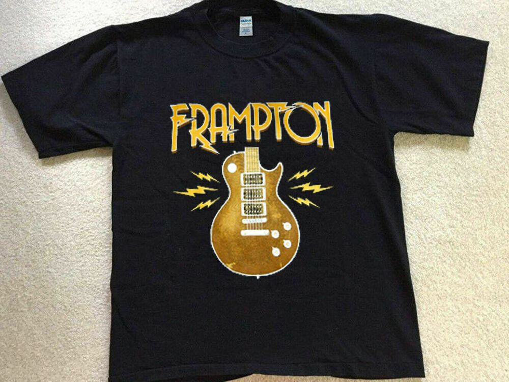 T Concert Peter Vintage Alive Comes Music Frampton Black g6yIfvY7b