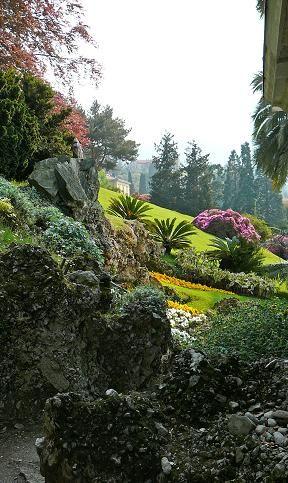 Villa Melzi's garden, Bellagio, Italy